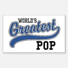 World's Greatest Pop Decal