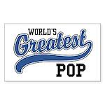 World's Greatest Pop Sticker (Rectangle)