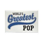World's Greatest Pop Rectangle Magnet