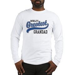 World's Greatest Grandad Long Sleeve T-Shirt