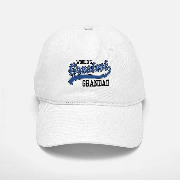 World's Greatest Grandad Baseball Baseball Cap