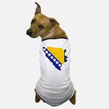 Bosnia and Herzegovina map flag Dog T-Shirt