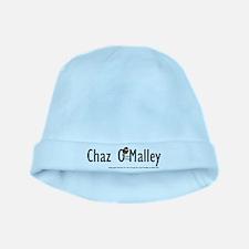 Chazs 1st Shirt baby hat