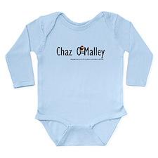 Chazs 1st Shirt Long Sleeve Infant Bodysuit