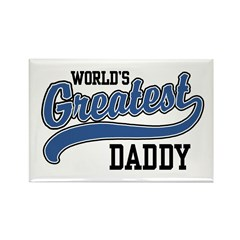 World's Greatest Daddy Rectangle Magnet