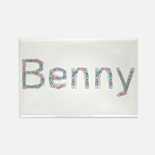 Benny Paper Clips Rectangle Magnet