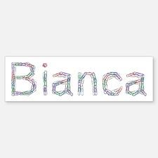 Bianca Paper Clips Bumper Bumper Bumper Sticker
