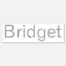 Bridget Paper Clips Bumper Bumper Bumper Sticker