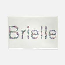 Brielle Paper Clips Rectangle Magnet