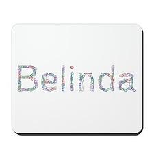 Belinda Paper Clips Mousepad