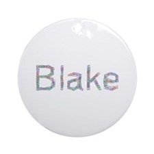 Blake Paper Clips Round Ornament
