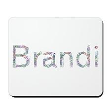 Brandi Paper Clips Mousepad