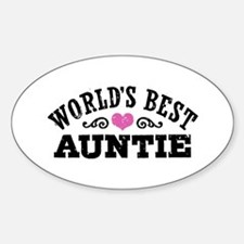 World's Best Auntie Decal