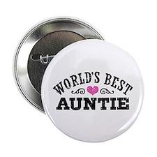 """World's Best Auntie 2.25"""" Button"""