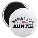 World's Best Auntie Magnet