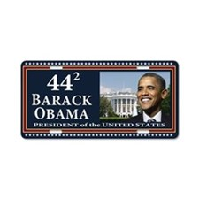 Obama 44 Presidential Seal Aluminum License Plate
