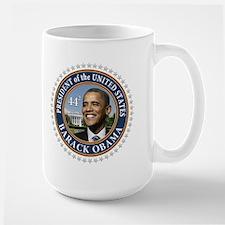 Obama 44 Presidential Seal Large Mug