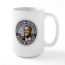 Obama 44 Presidential Seal Mug