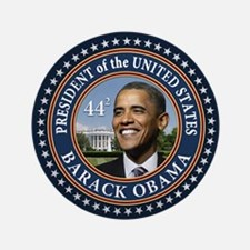 "Obama 44 Presidential Seal 3.5"" Button (10 pack)"
