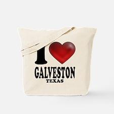 I Heart Galveston, Texas Tote Bag