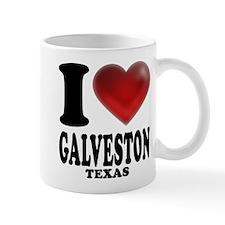 I Heart Galveston, Texas Mug