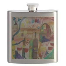 Wine Time Flask