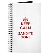 Keep Calm Sandy's Gone Journal