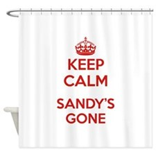 Keep Calm Sandy's Gone Shower Curtain