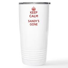 Keep Calm Sandy's Gone Travel Mug