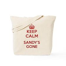 Keep Calm Sandy's Gone Tote Bag