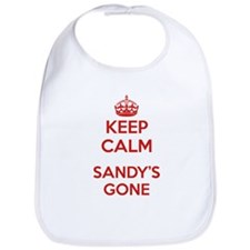 Keep Calm Sandy's Gone Bib