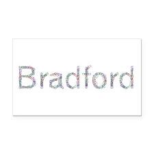 Bradford Paper Clips Retangular Car Magnet