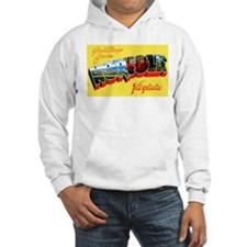 Norfolk Virginia Greetings (Front) Hoodie