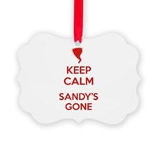Keep Calm Sandy's Gone Ornament