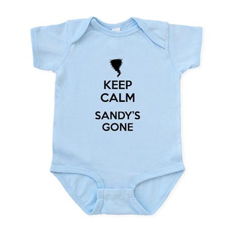 Keep Calm Sandy's Gone Infant Bodysuit