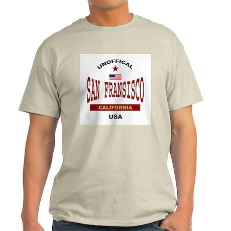 San Fransisco Ash Grey T-Shirt