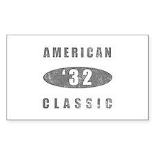 1932 Birthday Classic Decal