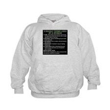 deadly terms used by a woman Hoodie