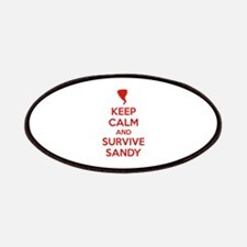 Keep Calm and Survive Sandy Patches