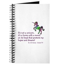 Scrubs Unicorn Quotes Journal