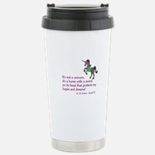 Scrubs Unicorn Quotes Stainless Steel Travel Mug