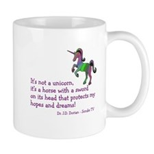 Scrubs Unicorn Quotes Mug