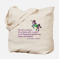Scrubs Unicorn Quotes Tote Bag