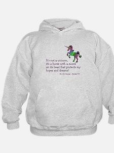 Scrubs Unicorn Quotes Hoodie