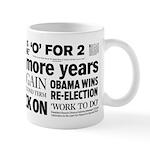 Obama Re-Elected Headline Mug