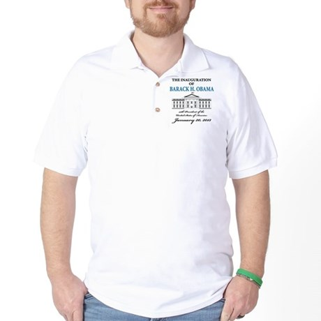 2013 Obama inauguration day Golf Shirt