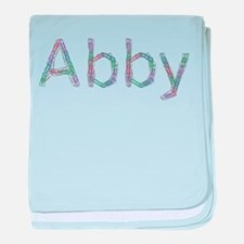 Abby Paper Clips baby blanket