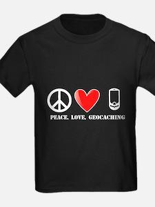 Peace, Love, Geocaching T