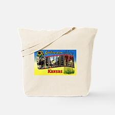 Wichita Kansas Greetings Tote Bag