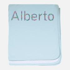Alberto Paper Clips baby blanket
